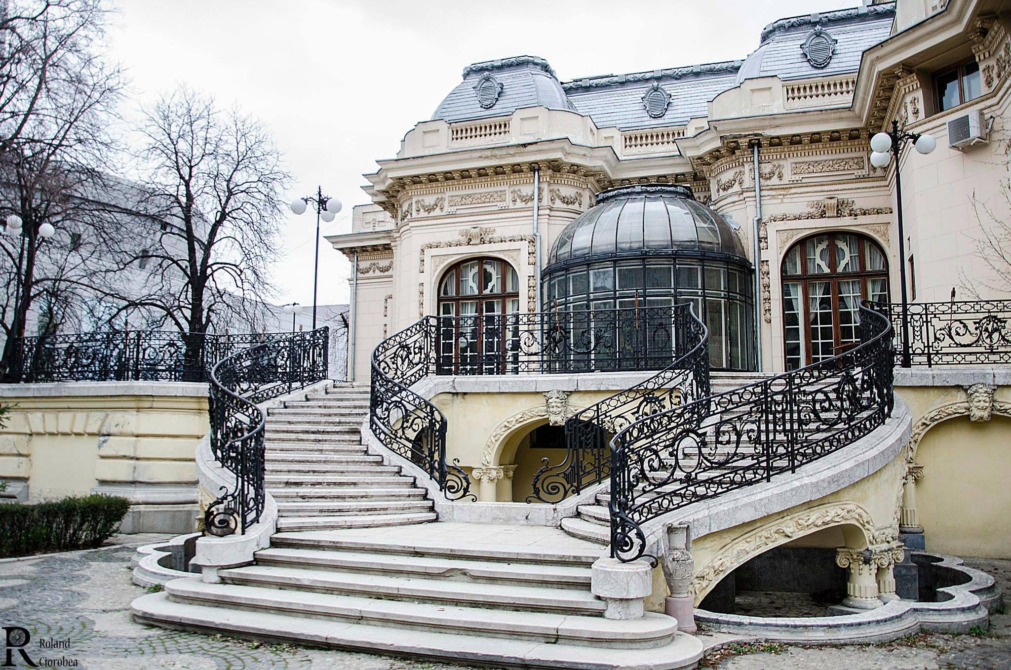 Bucharest Romania Casa Asan Casa Oamenilor De Stiinta