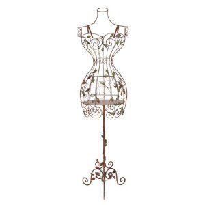 Elegant Metal Mannequin Stand - tall pedestals - that won\'t block ...