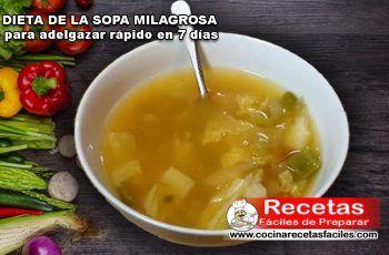 Dieta de la sopa magica
