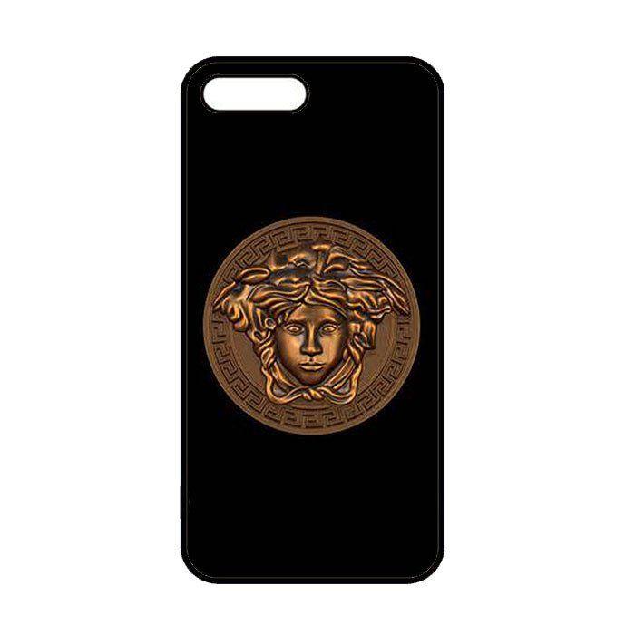 edf054958990 Versace Logo Gold iPhone 7