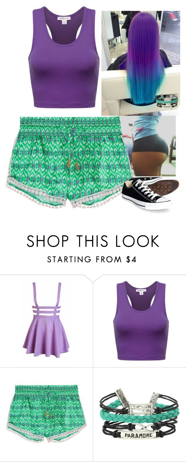 """""""Lucy 138"""" by selinalindroth ❤ liked on Polyvore featuring Paloma Blue and Converse"""