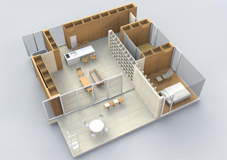 Superior Furniture House Shigeru Ban 1993.   Pesquisa Google