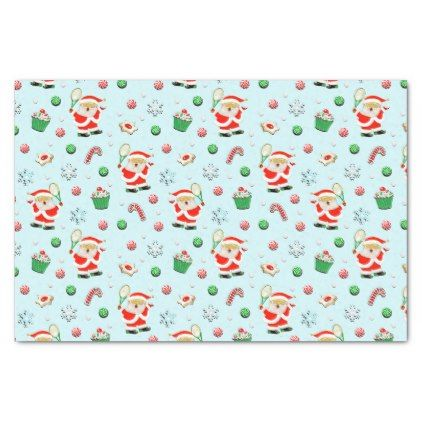 Tennis Christmas Tissue Paper Christmas Craft Supplies Cyo Merry