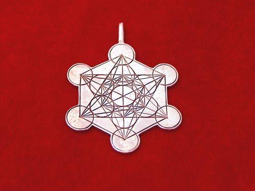 Metatron Cube Silver | Sacred Geometry Jewellery | Sacred