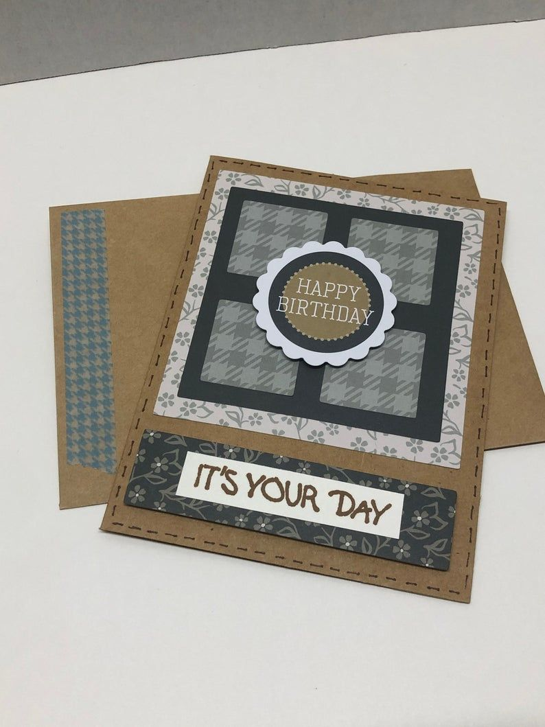 Masculine Birthday Congrats Celebrate Assortment Etsy Boxed Birthday Cards Creative Memories Get Well Cards