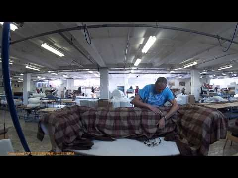 tufting a cloth settee