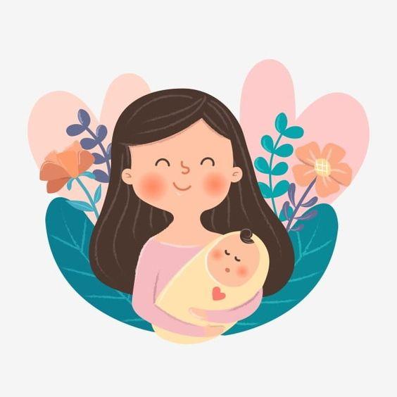 Pin Oleh Nira Mustanirah Di Mae Mother Ilustrasi Karakter Ilustrasi Vektor Ilustrasi