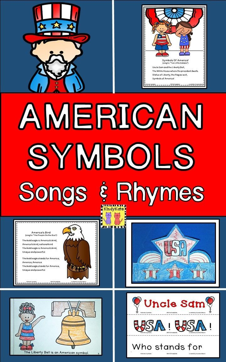 American Symbols Songs And Rhymes Circle Time Songs American