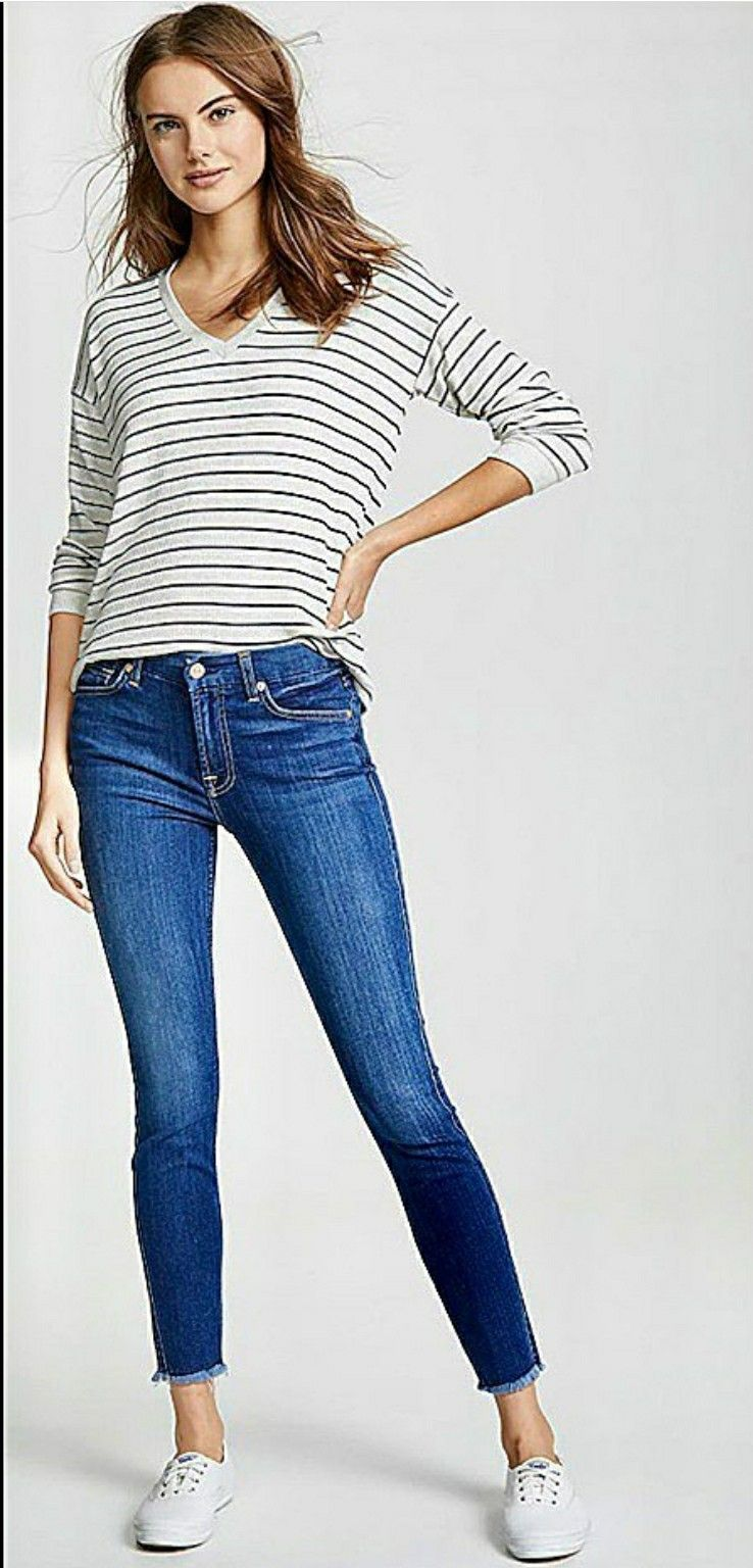 Skinny jeans, Keds style, Keds shoes outfit