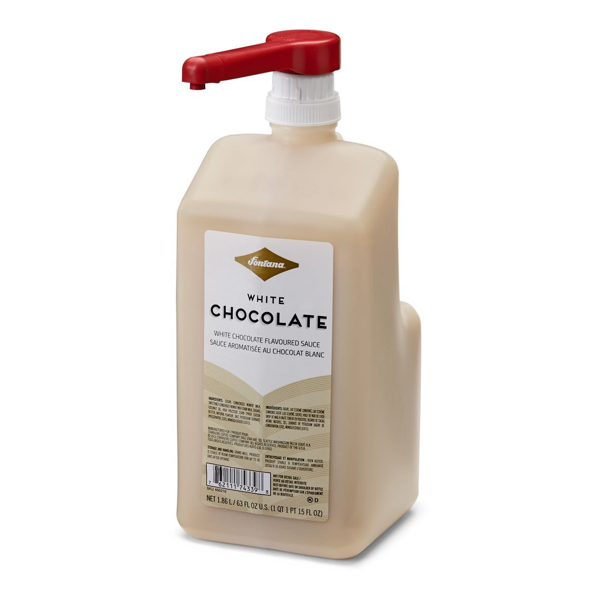 Coffee Art With Chocolate Syrup This Pump Bottle Of Creamy White Chocolate Sauce Lets You
