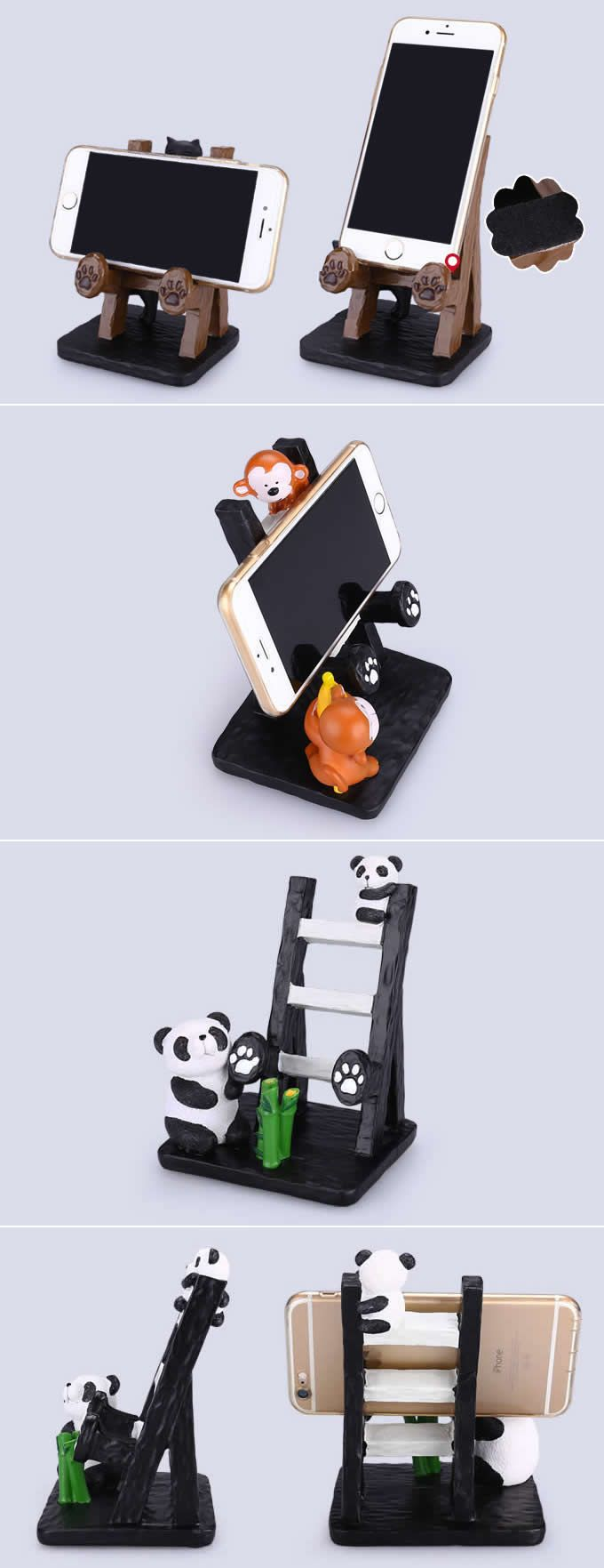 Animal Smartphone Cell Phone Stand Charging Dock Holder