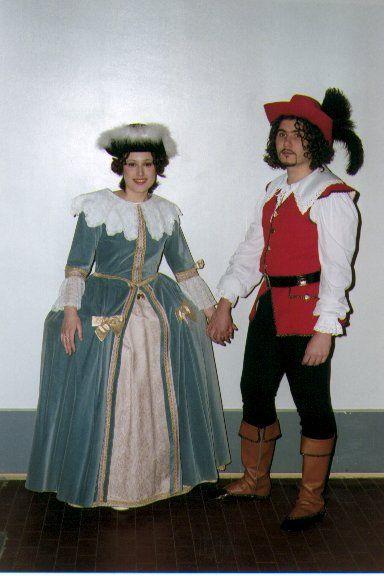Costumi del 1600 barocco la linea dei costumi del seicento si ispira ai costumi francesi - Costumi da bagno femminili ...