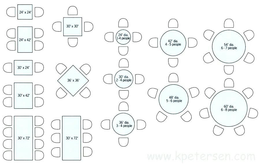 Pin By Micah Harpel On Table Dining Table Sizes Dining Table