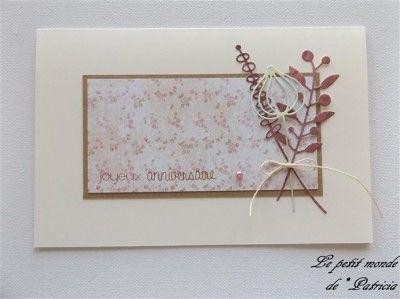 Patricia Joyeux Anniversaire Mes Cartes Patricia Carte Joyeux