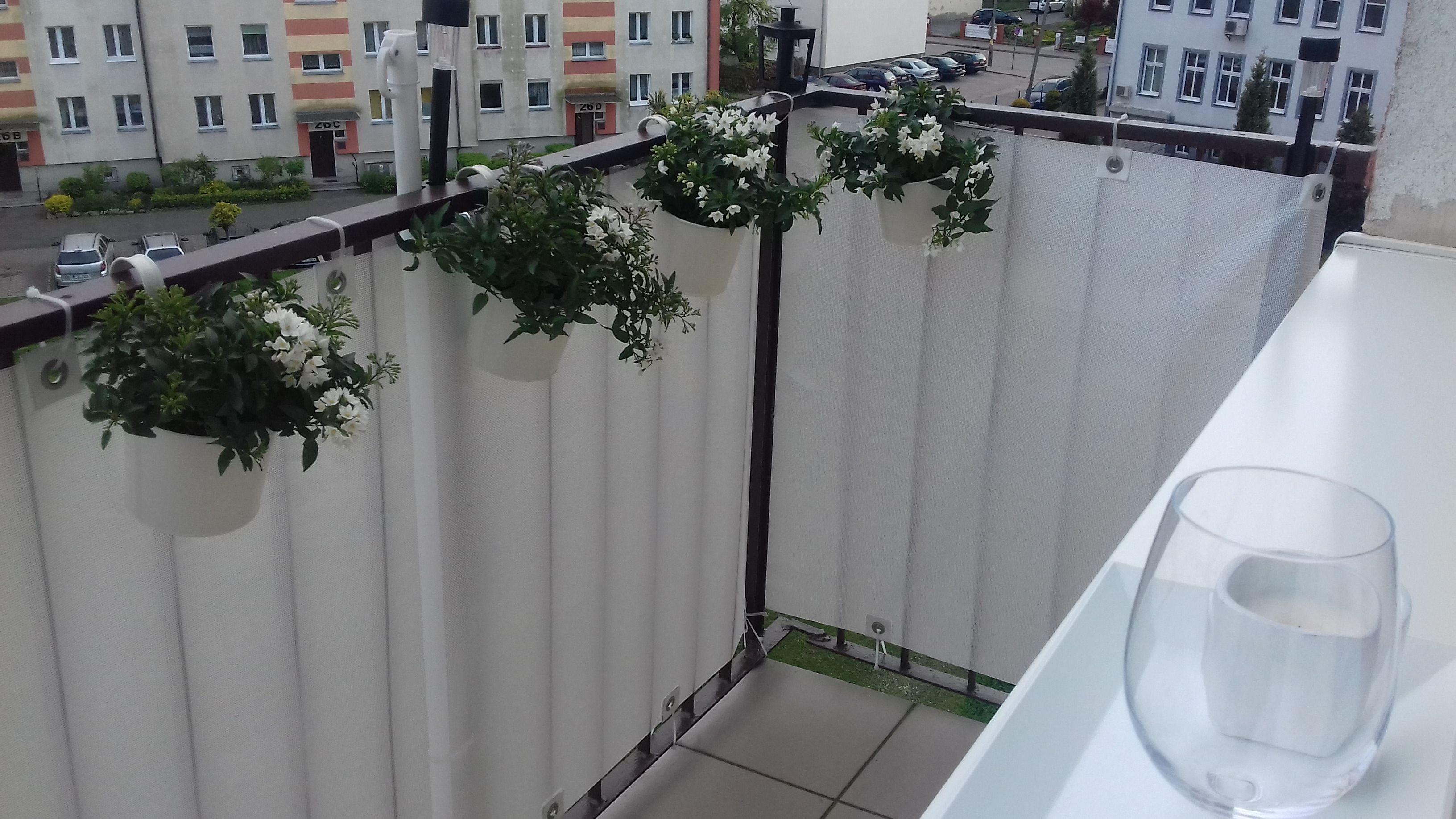 Znalezione Obrazy Dla Zapytania Osłona Na Barierki Balkonowe