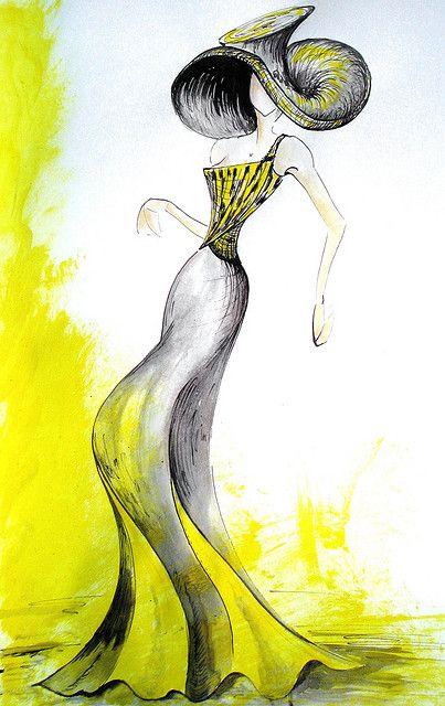 Fashion Sketch Ilustracion De Moda Pinterest Dessin De Mode