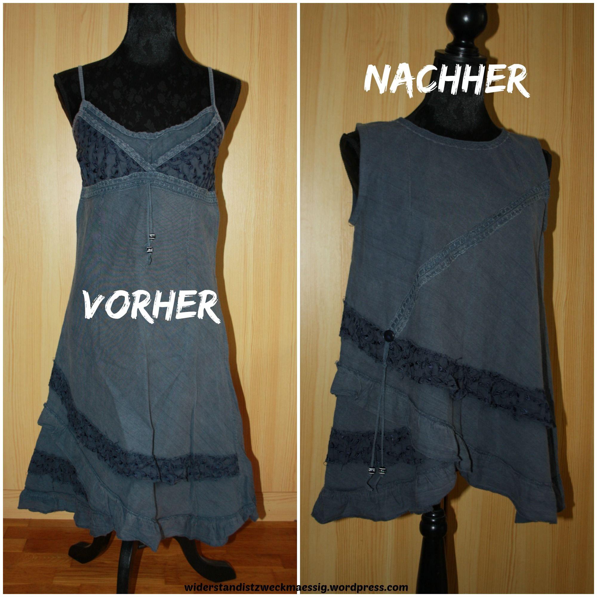 redesign neues n hen aus alten kleidern nachgemacht tunika aus altem kleid. Black Bedroom Furniture Sets. Home Design Ideas