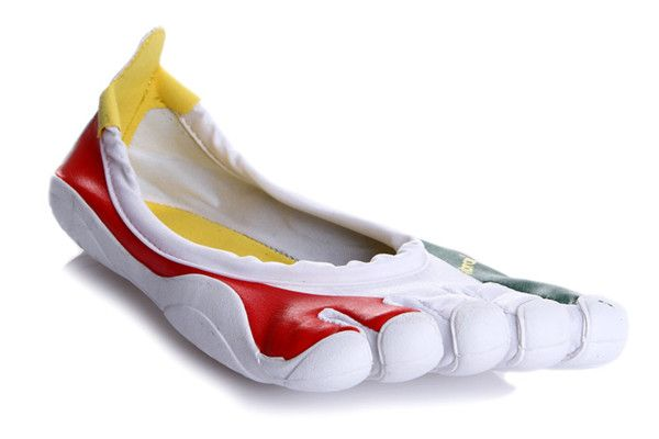 new product 5d972 b36b0 Vibram Five Fingers Mens Classic Flag Shoes Green White Red UK sale at  http