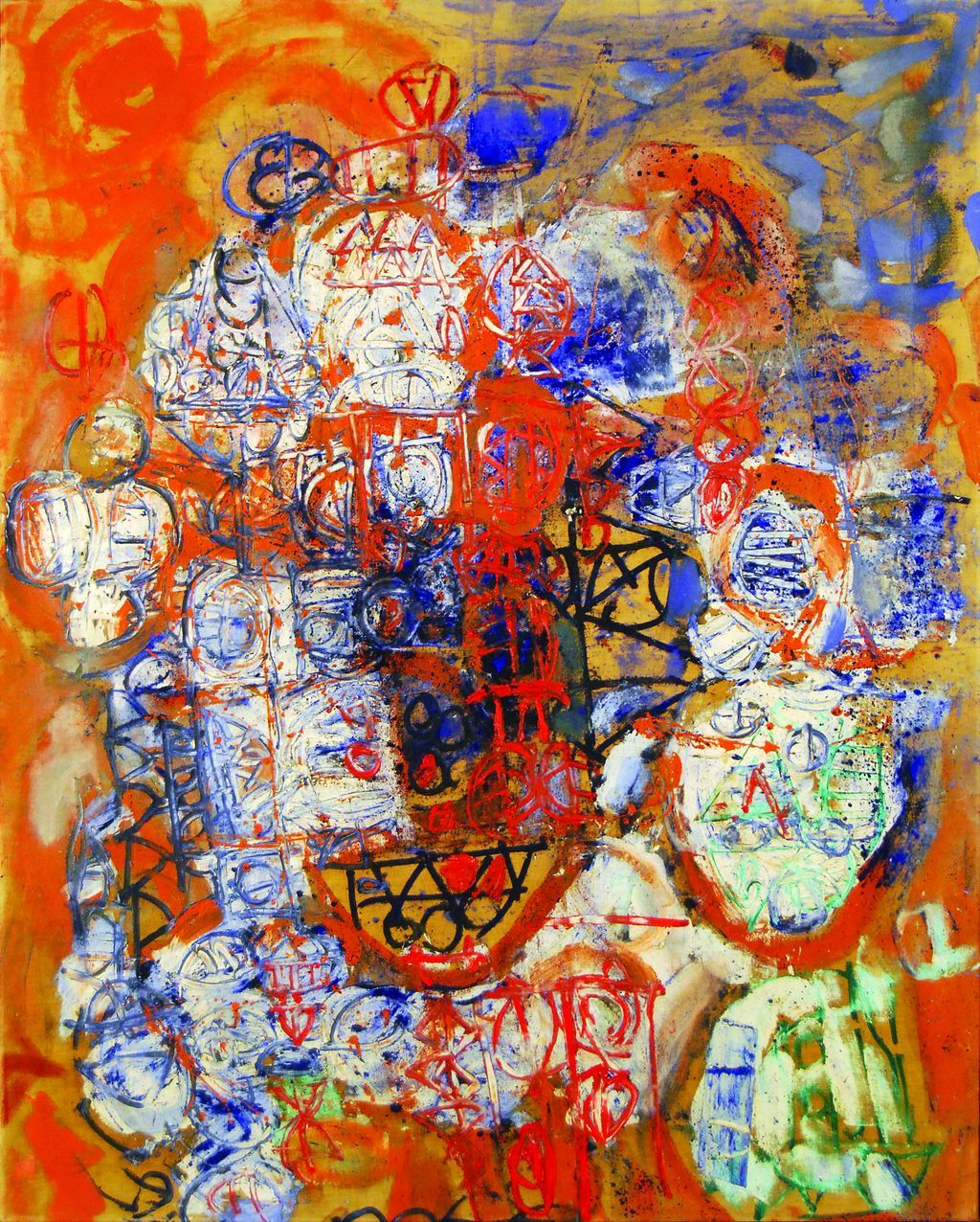 Stuart Sutcliff Hamburg Series 4br Oil On Canvasbr 39