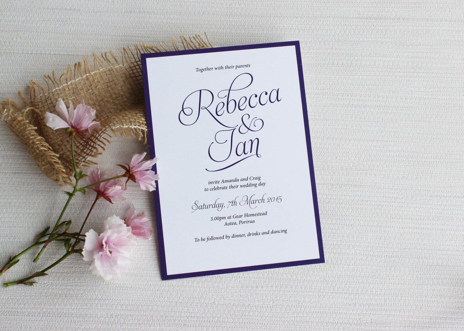wording wedding invitations  a beginners guide  creative