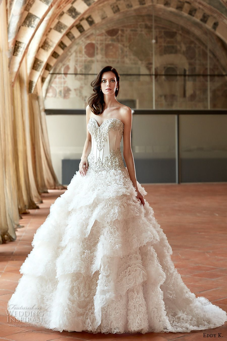 Eddy K. Couture 2017 Wedding Dresses Ball gown wedding