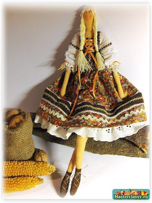 Кукла Тильда дачница с пошаговыми фото и подробным описанием. Мастер класс. Часть 2