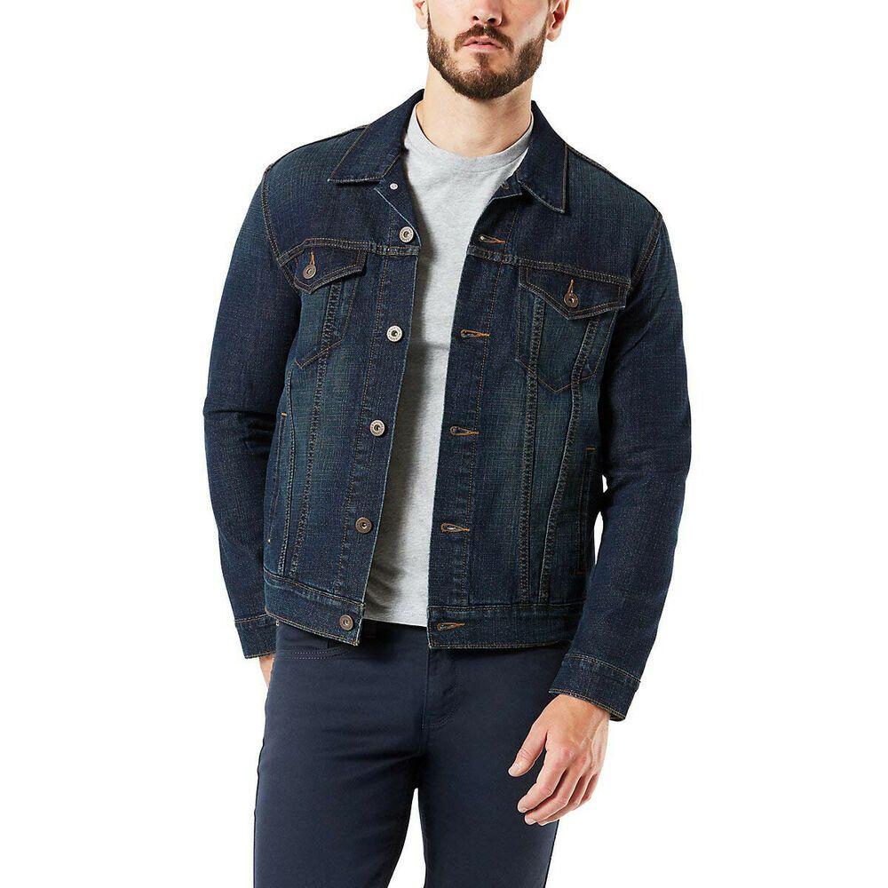 Ebay Sponsored Levi S Signature Gold By Levi Strauss New Blue Mens Large L Jean Jacket 89 Men S Coats Jackets Levi Strauss Mens Coats [ 1000 x 1000 Pixel ]