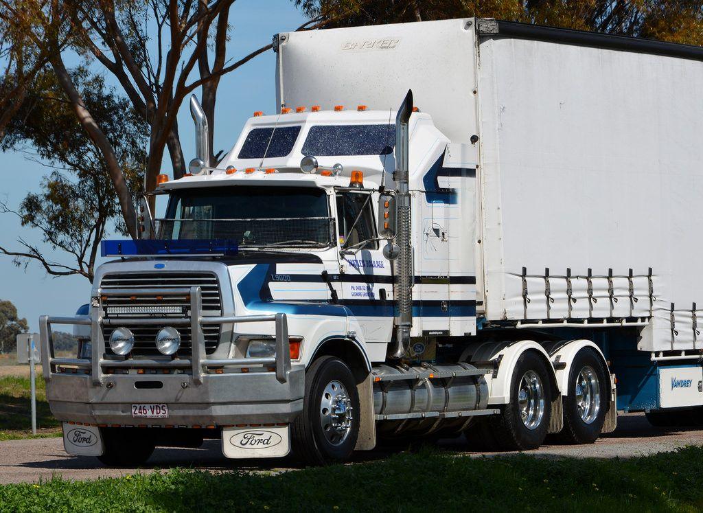 Trucking Ford trucks, Road train, Trucks