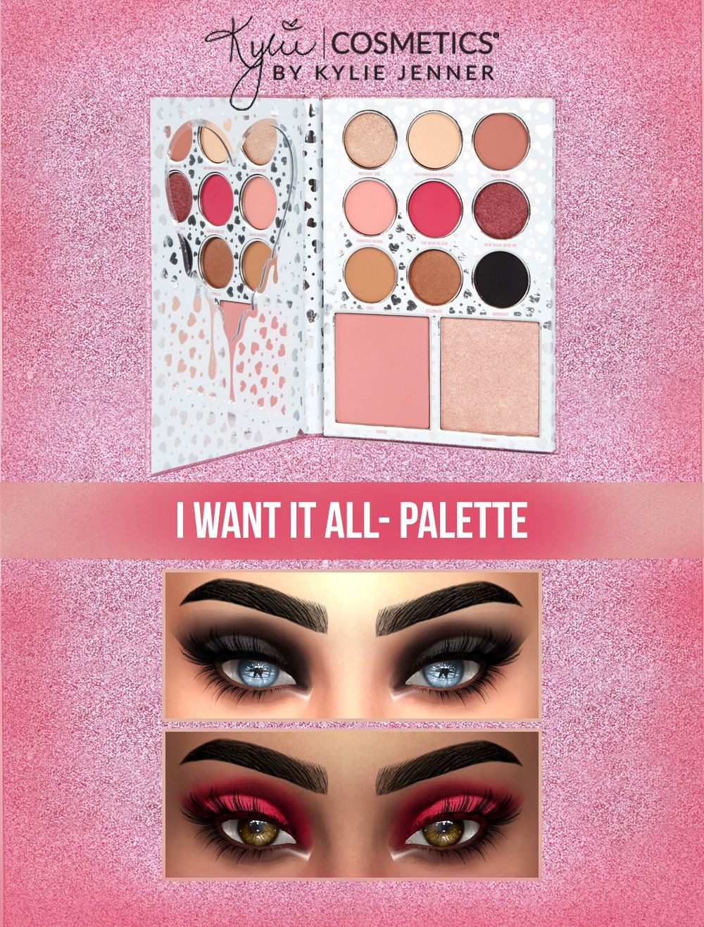 2017 Birthday Collection - I Want It All Palette by Kylie Cosmetics #3