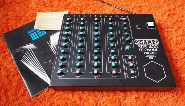 matrixsynth simmons sds 400 vintage analog drum synthesizer sn new synths in 2019 drums. Black Bedroom Furniture Sets. Home Design Ideas