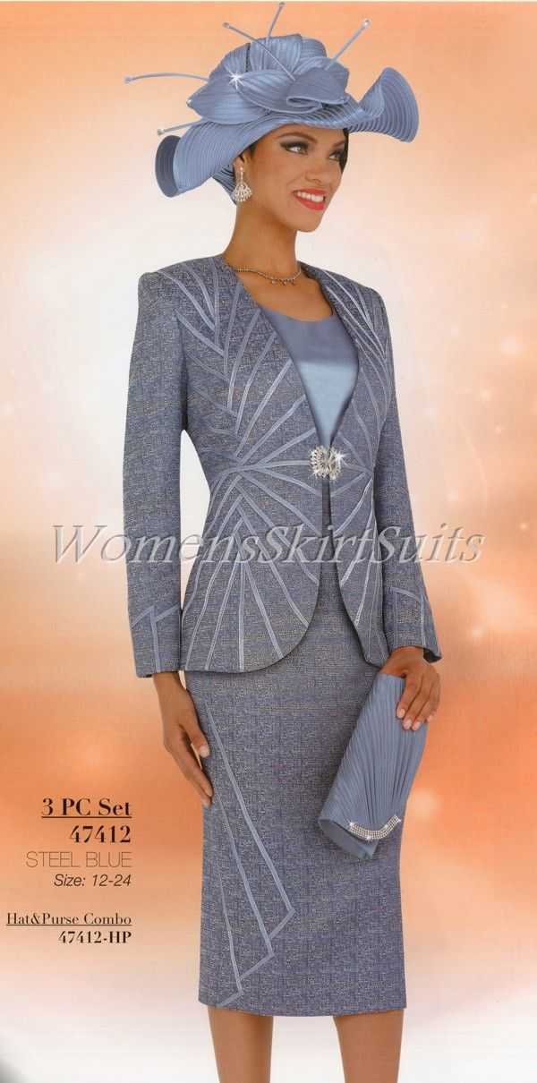 53c6c13afb women s church suits and hats