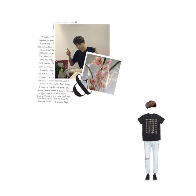 """i. M O V E T O D O R M"" by jiyong-ji ❤ liked on Polyvore featuring Calvin Klein Jeans, men's fashion and menswear"