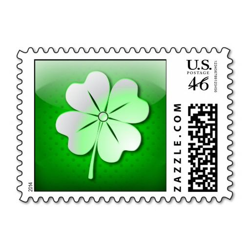 @Medusa GraphicArt SOLD Postage glossy green quatrefoil, St. Patrick's Day! #Zazzle #Postage #glossy #green #quatrefoil #Patrick #Day #icon http://www.zazzle.com/postage_glossy_green_quatrefoil_st_patricks_day-172767774106750172