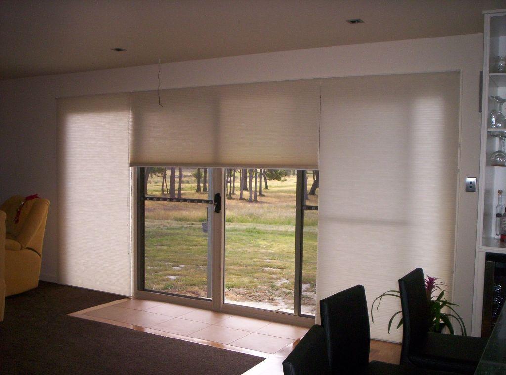 Interior Fascinating Black Blinds For Sliding Doors Also Vertical
