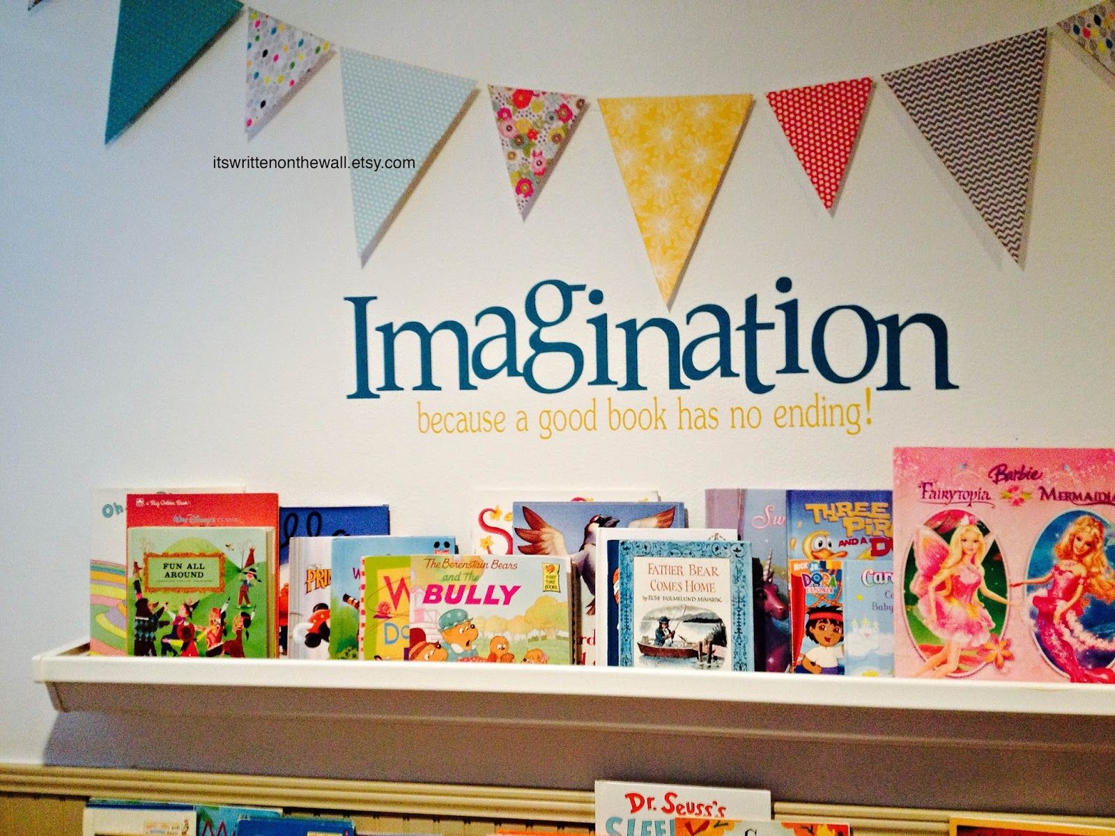 Its Written On The Wall Ideas For Kids Play Room,