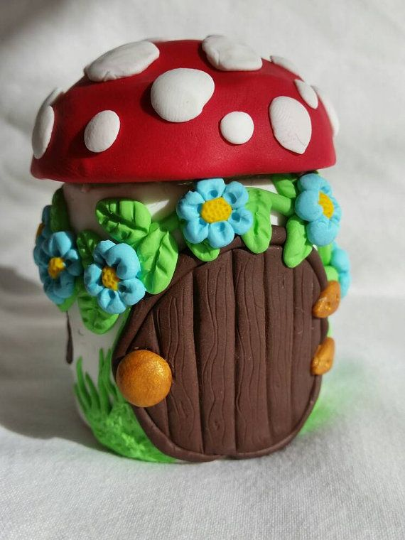 Fairy home jar by MadeByJudeUK on Etsy