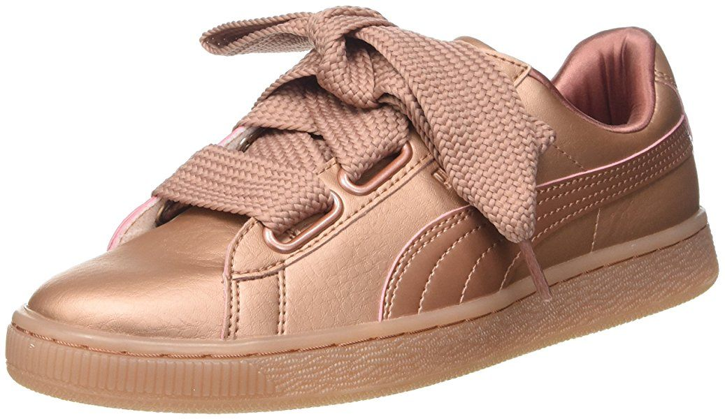 cecf49edb624a Puma Basket Heart Copper
