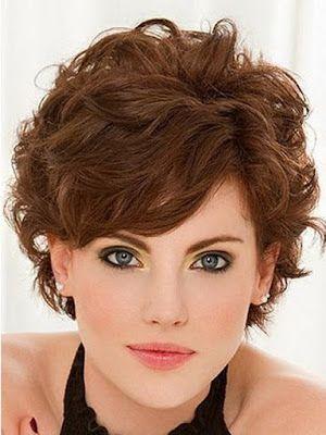 Model Rambut Keriting Wanita Model Rambut Pendek Fine Curly Hair Short Hair Styles Short Curly Hairstyles For Women