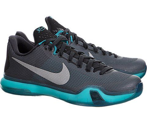 Black · Nike Kobe X (10) – Black / Radiant Emerald-Dark Grey-Metallic