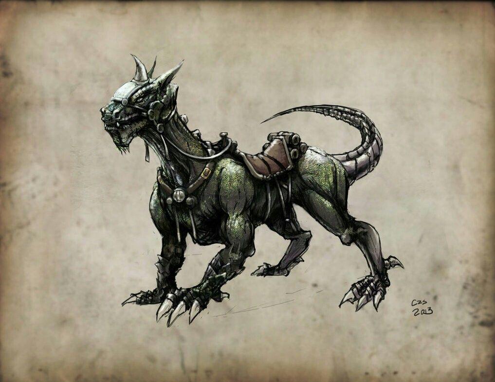 Giant Lizard Mount In 2019 Fantasy Concept Art Fantasy