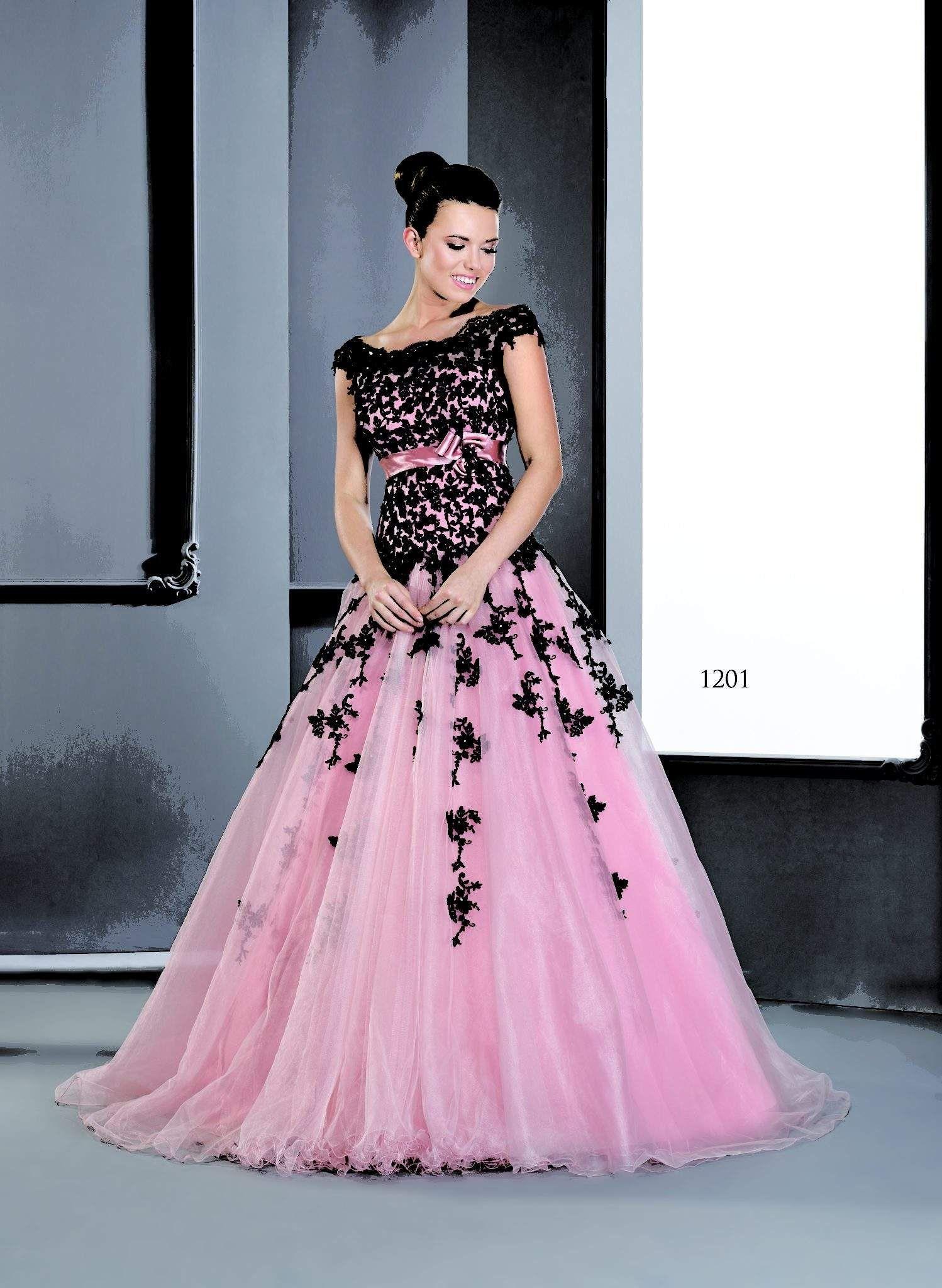 Pink Cap Sleeve Ball Gowns w/ Lace - Darius Cordell Fashion Ltd ...