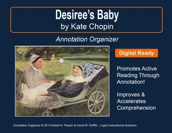 baby by chopin desirees essay kate response At a glance, 'desiree's baby' published in 1893 by an american writer kate chopin, depicts the miscegenation in creole louisiana during the antebellum era.
