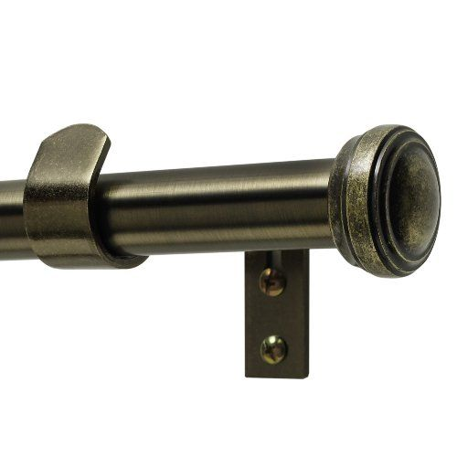 Want This 35 94 Curtain Rods Brass Curtain Rods Window