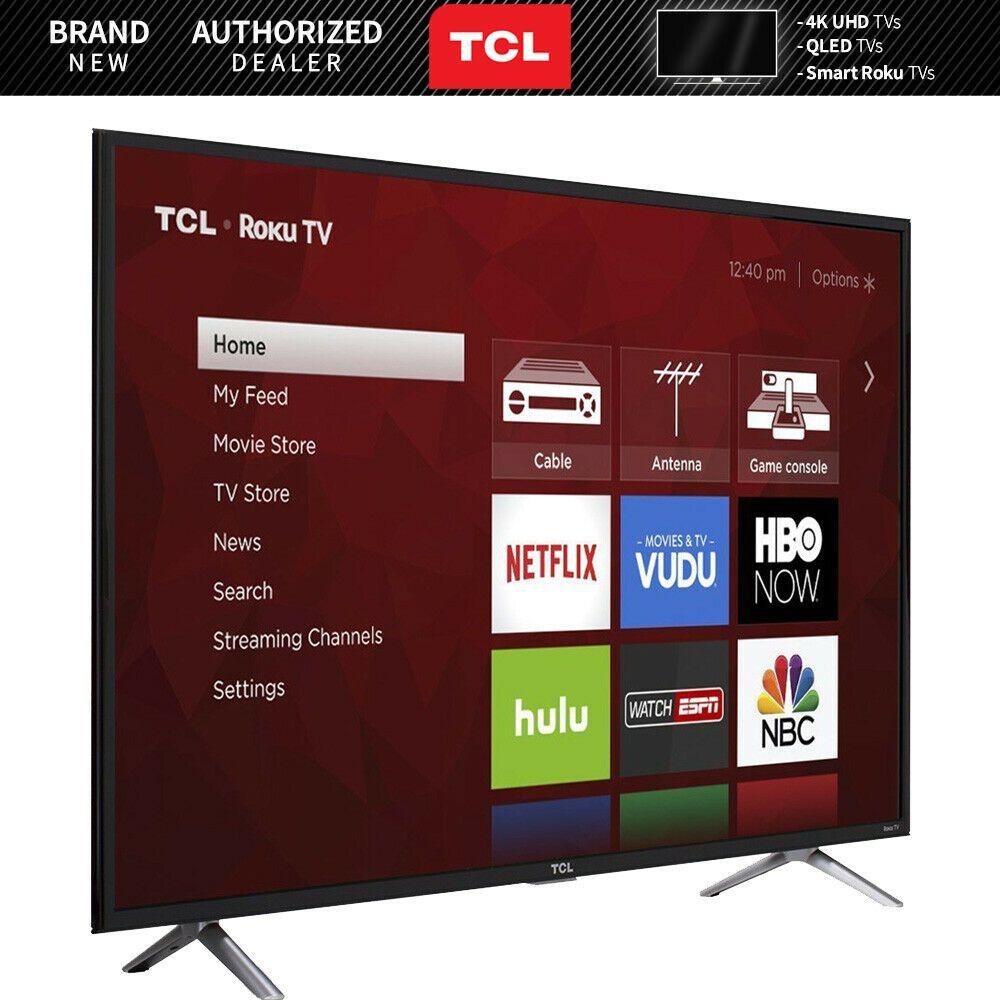 Details About Tcl 49s405 49 Inch Class S Series 4k Ultra Hd Roku Smart Led Tv 2017 Model Smart Tv Samsung Wallpaper Roku