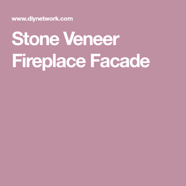 Stone Veneer Fireplace Facade For The Home Fireplace