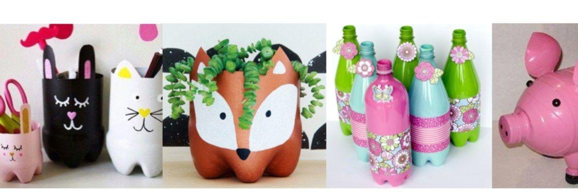 Hedendaags Hoe werkt #Knutselen met lege plastic flessen? | Plastic flessen TY-42