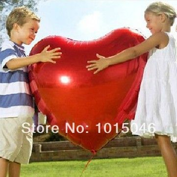 75cm Red Heart Foil Helium Balloons Wedding Party Valentines Day Home Decor