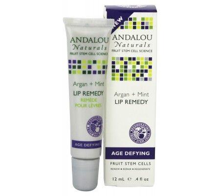 Andalou Naturals Age Defying Lip Remedy, Argan + Mint, 0.4 Oz Skin by Ann Webb - Clinicals Super Ester C with Mangosteen - 1 oz. Formerly Skin Organics
