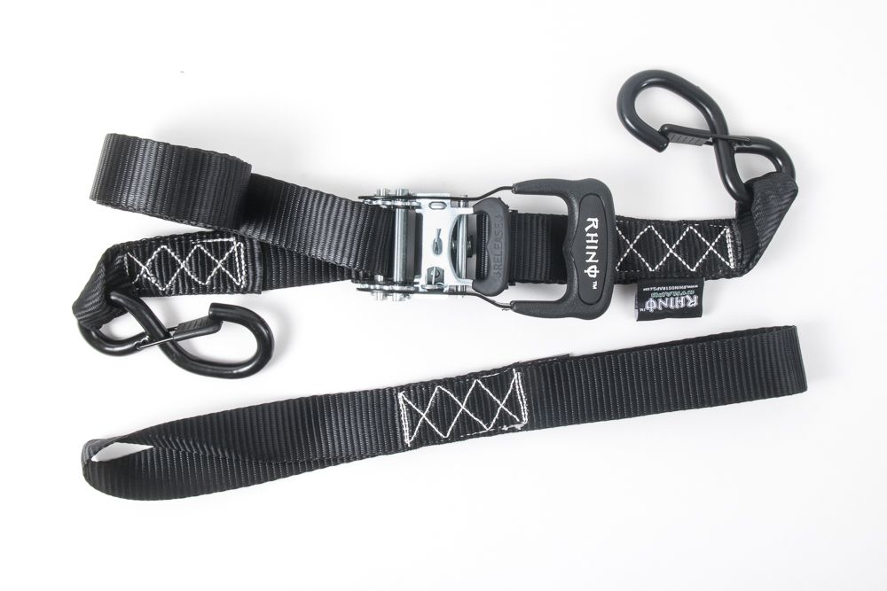 Rhino USA Ratchet Straps Overview and Review, Tiedown