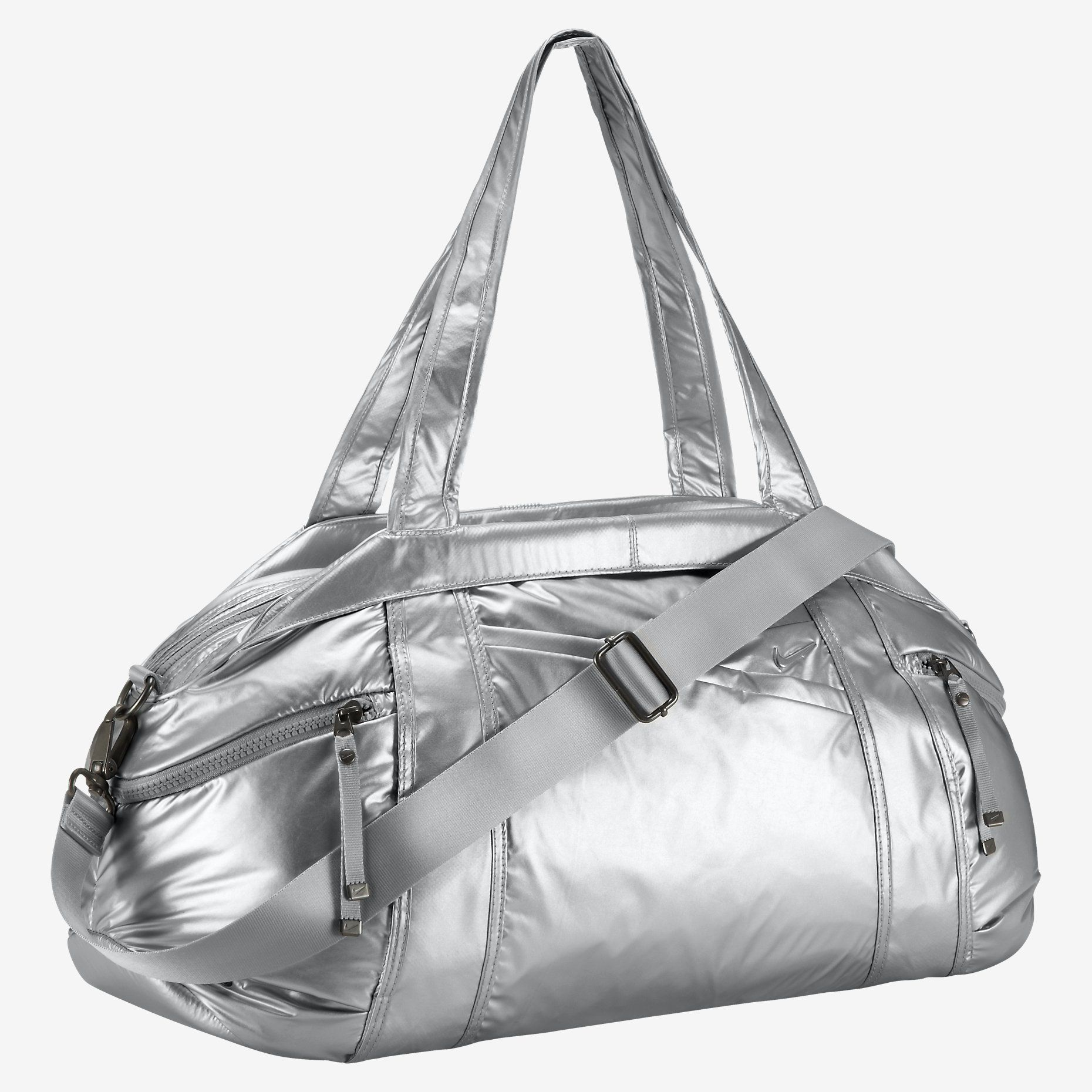 4bb51f212f Nike Victory Gym Club Metallic Duffel Bag Tomboy Femme